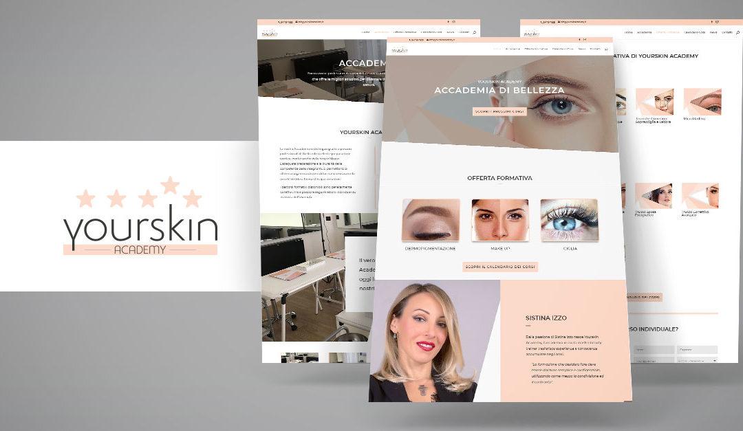 Lancio del nuovo sito web di Yourskin Academy