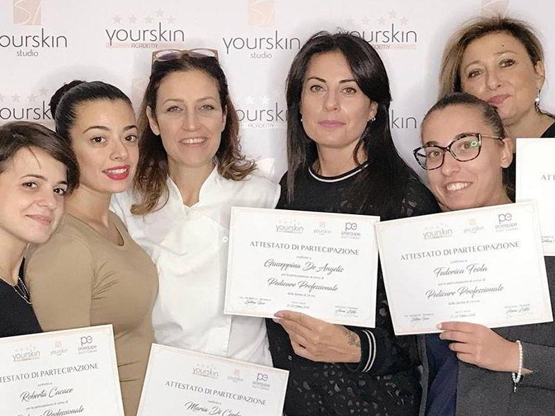 Corso Pedicure Professionale Anna Lotito per Yourskin Academi