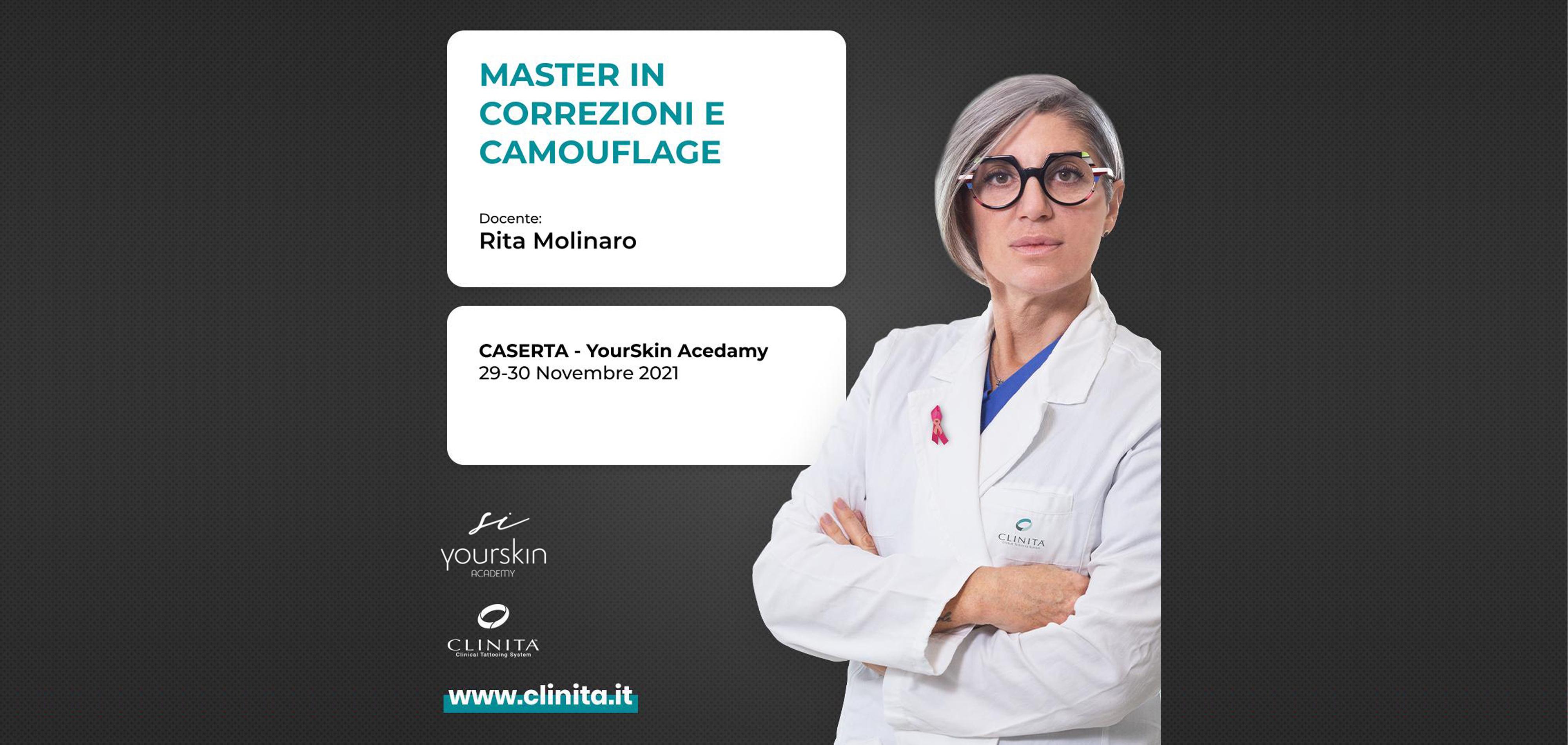 Master Correzioni e Camouflage a Caserta - 29 e 30 novembre 2021